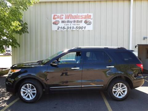 2013 Ford Explorer for sale at C & C Wholesale in Cleveland OH