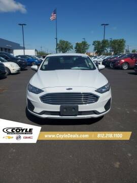 2019 Ford Fusion for sale at COYLE GM - COYLE NISSAN - New Inventory in Clarksville IN