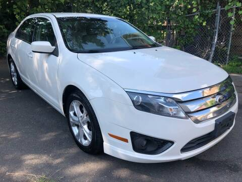 2012 Ford Fusion for sale at James Motor Cars in Hartford CT