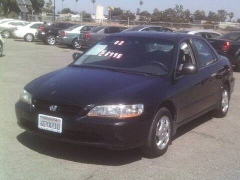 2000 Honda Accord for sale at Valley Auto Sales & Advanced Equipment in Stockton CA