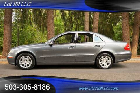 2005 Mercedes-Benz E-Class for sale at LOT 99 LLC in Milwaukie OR