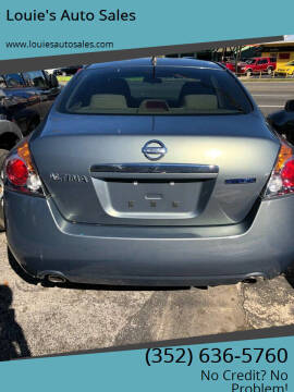 2009 Nissan Altima Hybrid for sale at Louie's Auto Sales in Leesburg FL