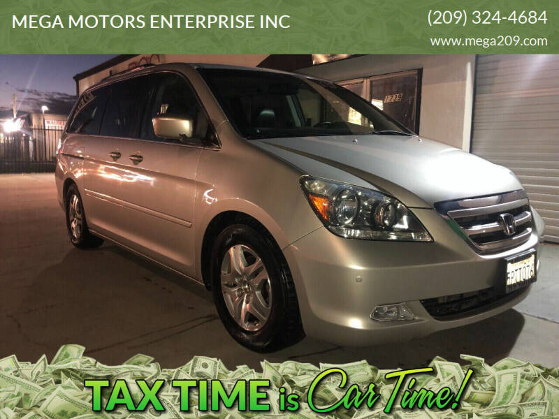 2005 Honda Odyssey for sale at MEGA MOTORS ENTERPRISE INC in Modesto CA