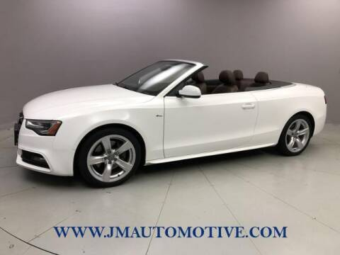 2015 Audi A5 for sale at J & M Automotive in Naugatuck CT