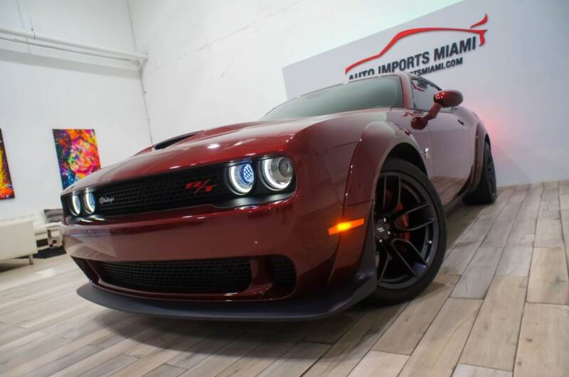 2019 Dodge Challenger for sale at AUTO IMPORTS MIAMI in Fort Lauderdale FL