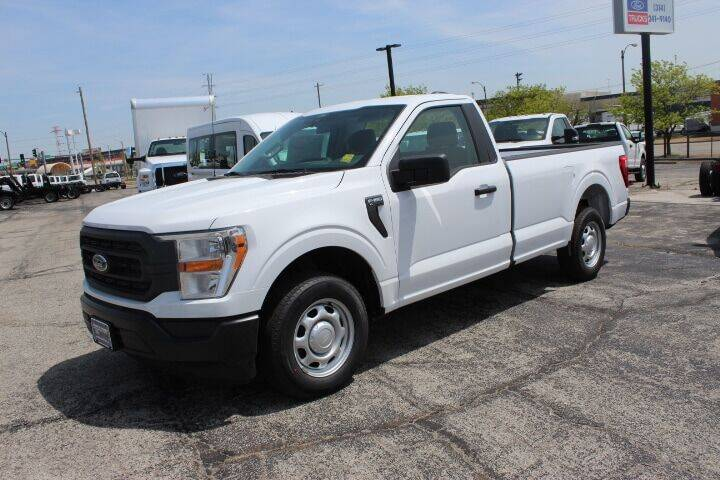 2021 Ford F-150 for sale at BROADWAY FORD TRUCK SALES in Saint Louis MO