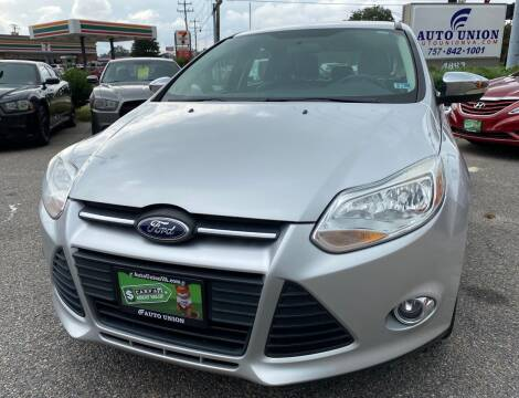 2013 Ford Focus for sale at Auto Union LLC in Virginia Beach VA