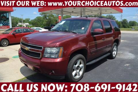 2008 Chevrolet Tahoe for sale at Your Choice Autos - Crestwood in Crestwood IL