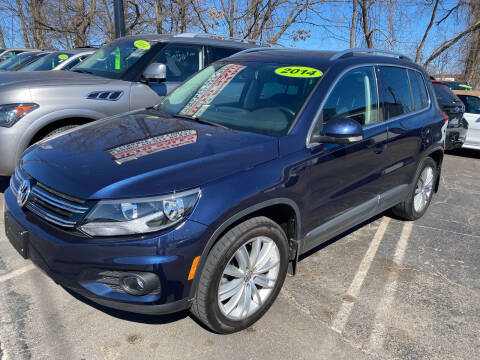 2014 Volkswagen Tiguan for sale at Real Deal Auto Sales in Manchester NH