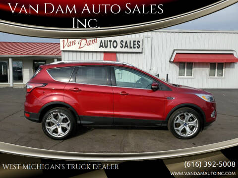 2017 Ford Escape for sale at Van Dam Auto Sales Inc. in Holland MI
