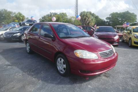 2006 Toyota Corolla for sale at J Linn Motors in Clearwater FL