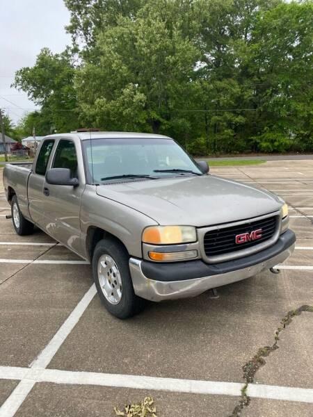 2001 GMC Sierra 1500 for sale at BLANCHARD AUTO SALES in Shreveport LA