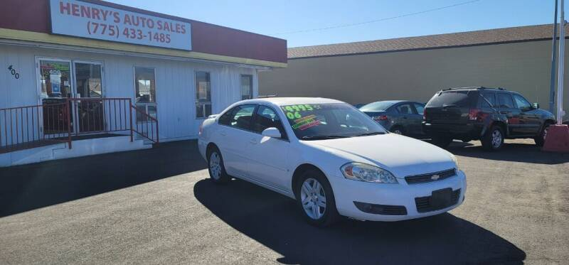 2006 Chevrolet Impala for sale at Henry's Autosales, LLC in Reno NV