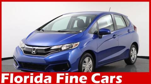 2018 Honda Fit for sale at Florida Fine Cars - West Palm Beach in West Palm Beach FL