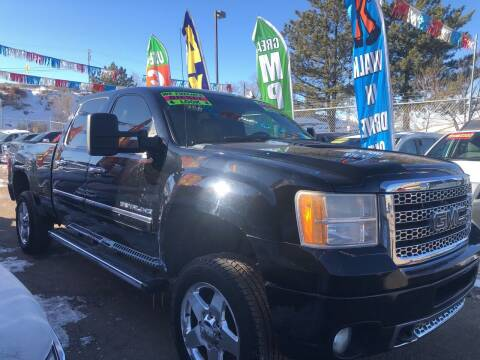 2011 GMC Sierra 2500HD for sale at Duke City Auto LLC in Gallup NM