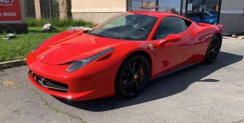 2012 Ferrari 458 Italia for sale at PLANET AUTO SALES in Lindon UT