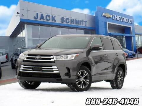2018 Toyota Highlander for sale at Jack Schmitt Chevrolet Wood River in Wood River IL