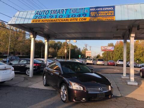 2010 Nissan Maxima for sale at Auto Smart Charlotte in Charlotte NC
