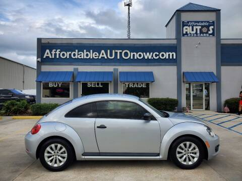 2016 Volkswagen Beetle for sale at Affordable Autos in Houma LA