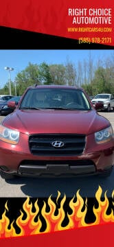 2008 Hyundai Santa Fe for sale at Right Choice Automotive in Rochester NY