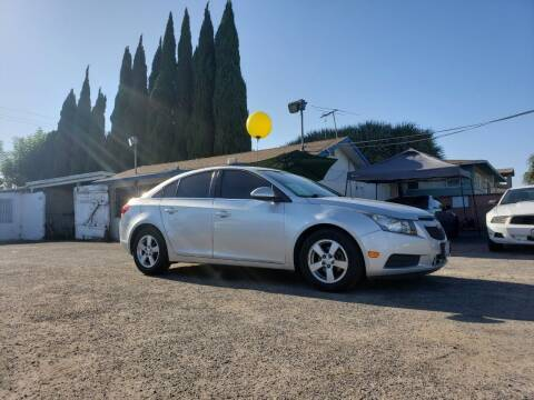 2012 Chevrolet Cruze for sale at LR AUTO INC in Santa Ana CA