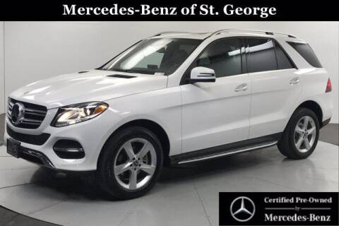 2018 Mercedes-Benz GLE for sale at Stephen Wade Pre-Owned Supercenter in Saint George UT