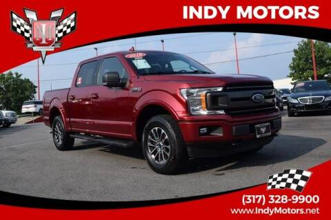 2018 Ford F-150 for sale at Indy Motors Inc in Indianapolis IN
