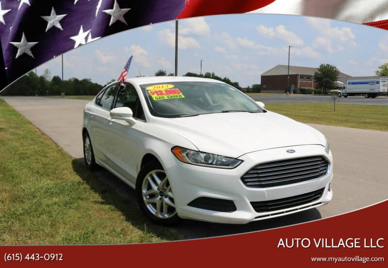 2013 Ford Fusion for sale at AUTO VILLAGE LLC in Lebanon TN