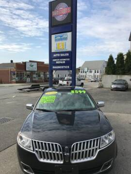 2010 Lincoln MKZ for sale at Ramstroms Service Center in Worcester MA