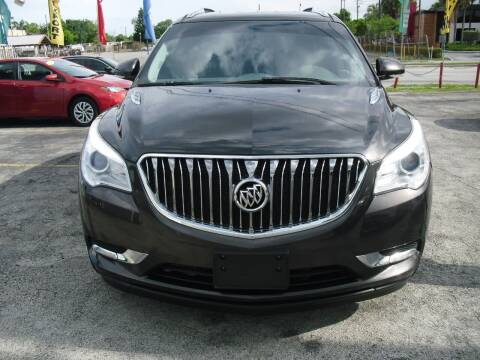 2015 Buick Enclave for sale at SUPERAUTO AUTO SALES INC in Hialeah FL