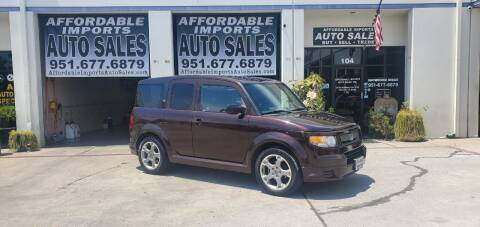 2007 Honda Element for sale at Affordable Imports Auto Sales in Murrieta CA