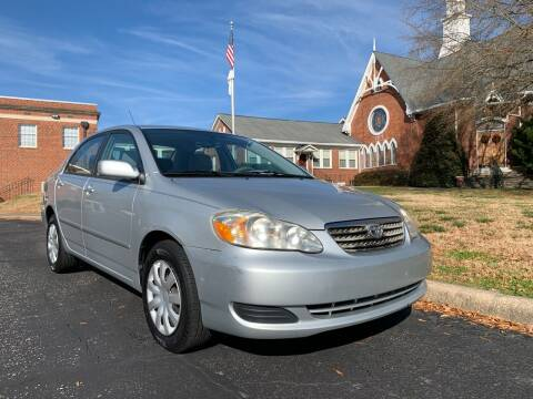 2008 Toyota Corolla for sale at Automax of Eden in Eden NC