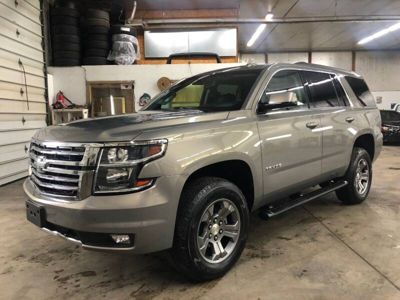 2018 Chevrolet Tahoe for sale at T James Motorsports in Gibsonia PA