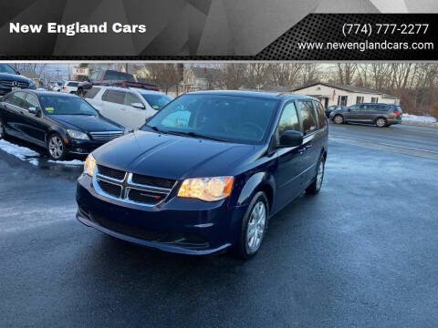 2016 Dodge Grand Caravan for sale at New England Cars in Attleboro MA