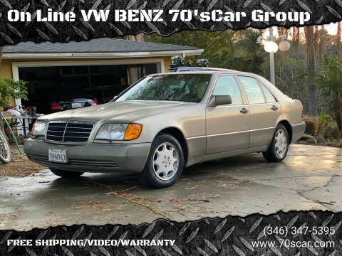 1992 Mercedes-Benz 300-Class for sale at On Line VW BENZ 70'sCar Group in Warehouse CA