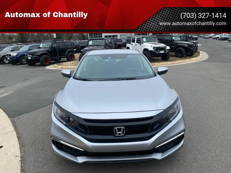 2019 Honda Civic for sale at Automax of Chantilly in Chantilly VA