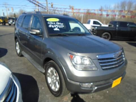 2009 Kia Borrego for sale at River City Auto Sales in Cottage Hills IL