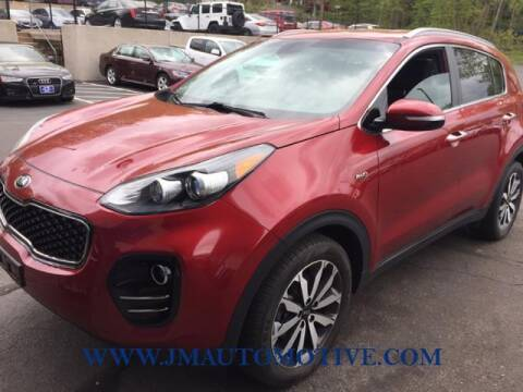 2019 Kia Sportage for sale at J & M Automotive in Naugatuck CT
