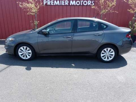 2014 Dodge Dart for sale at PREMIERMOTORS  INC. in Milton Freewater OR