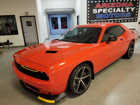 2016 Dodge Challenger for sale at Arizona Specialty Motors in Tempe AZ