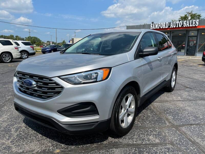 2019 Ford Edge for sale at Samford Auto Sales in Riverview MI