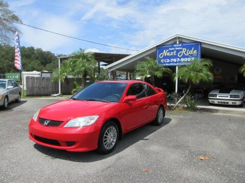 2005 Honda Civic for sale at NEXT RIDE AUTO SALES INC in Tampa FL