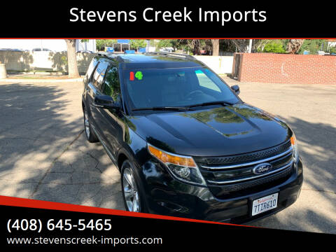 2014 Ford Explorer for sale at Stevens Creek Imports in San Jose CA