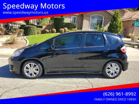 2010 Honda Fit for sale at Speedway Motors in Glendora CA
