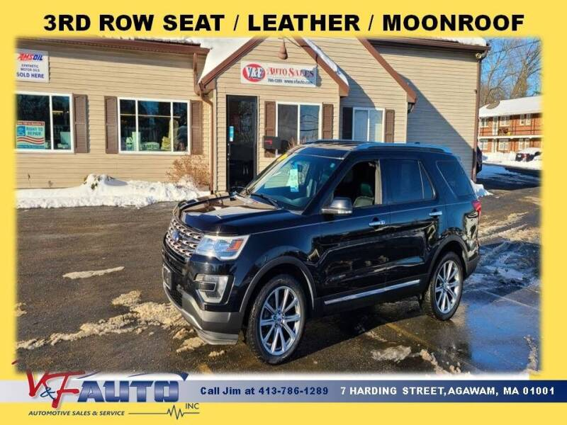 2016 Ford Explorer for sale at V & F Auto Sales in Agawam MA