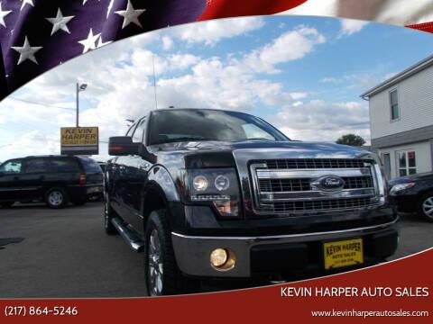 2014 Ford F-150 for sale at Kevin Harper Auto Sales in Mount Zion IL