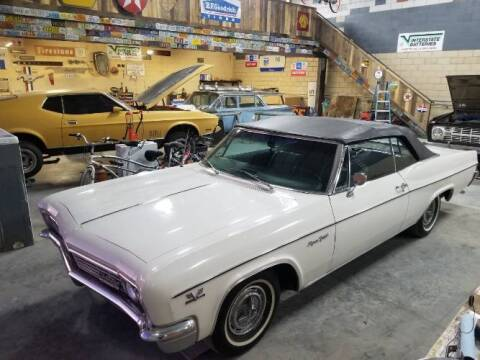 1966 Chevrolet Impala for sale at Classic Car Deals in Cadillac MI