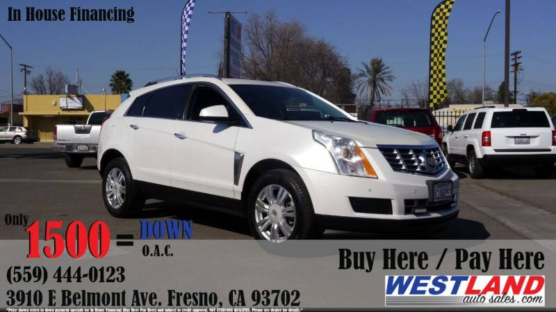 2013 Cadillac SRX for sale at Westland Auto Sales in Fresno CA