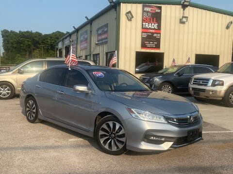 2017 Honda Accord Hybrid for sale at Premium Auto Group in Humble TX