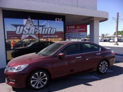 2013 Honda Accord for sale at USA Auto Inc in Mesa AZ